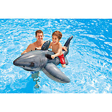 Buy Intex Great White Shark Inflatable Toy Online at johnlewis.com