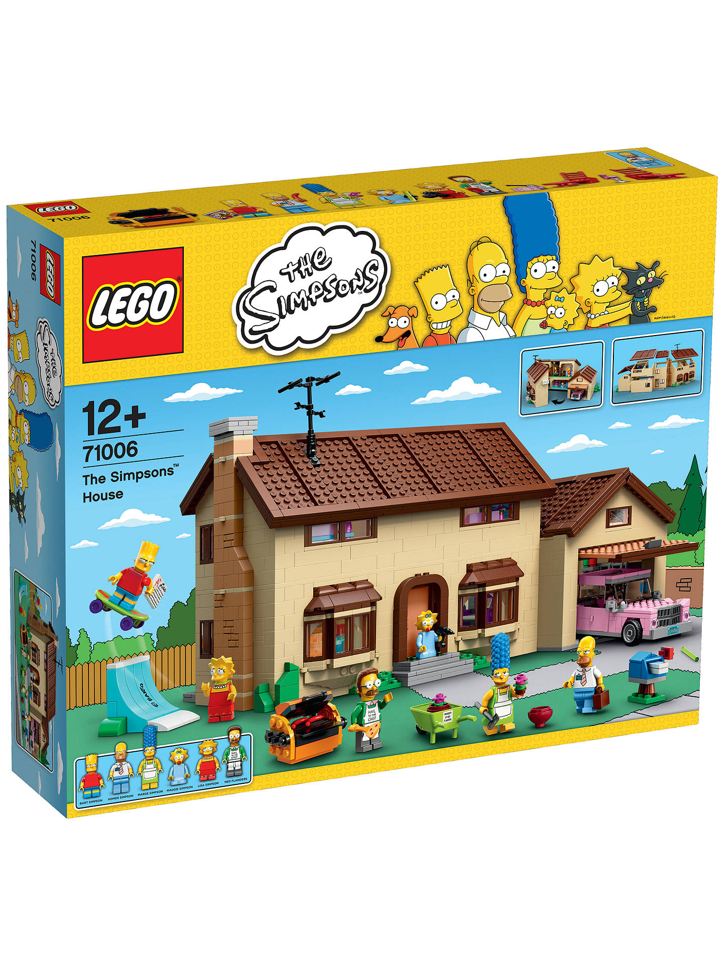 Lego The Simpsons 71006 The Simpsons House At John Lewis Partners