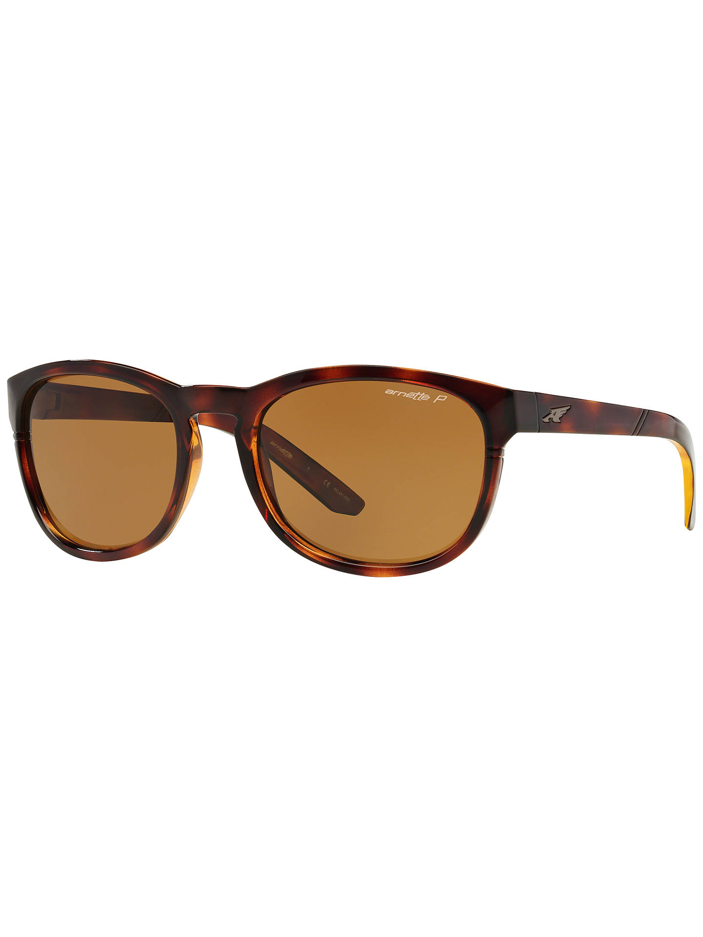 BuyArnette AN4219 Pleasantville Polarised Sunglasses, Tortoise Online at  johnlewis.com ... 789fff50d6
