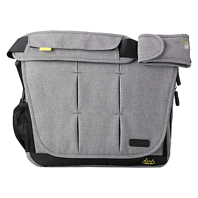Bababing DayTripper City Deluxe 2016 Changing Bag, Grey