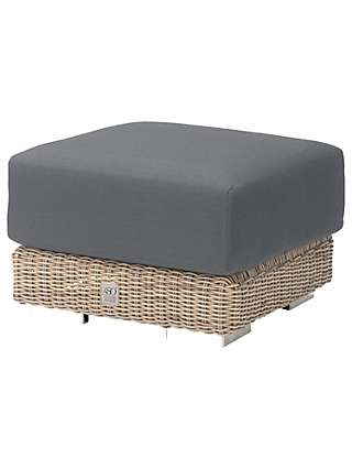 4 Seasons Outdoor Kingston Footstool and Cushion