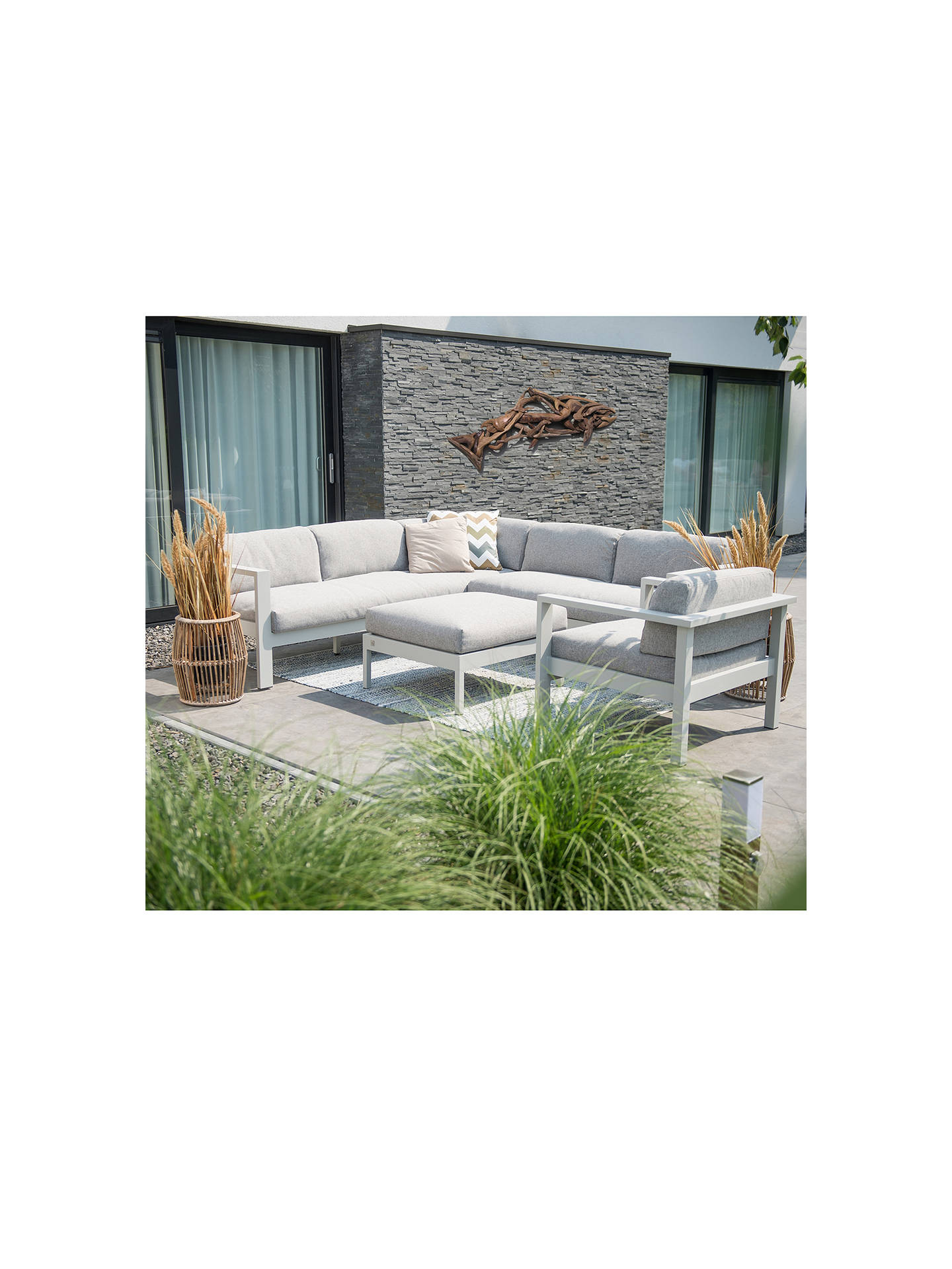 Buy 4 Seasons Outdoor Galaxy Garden Living Chair with Cushion Online at johnlewis.com