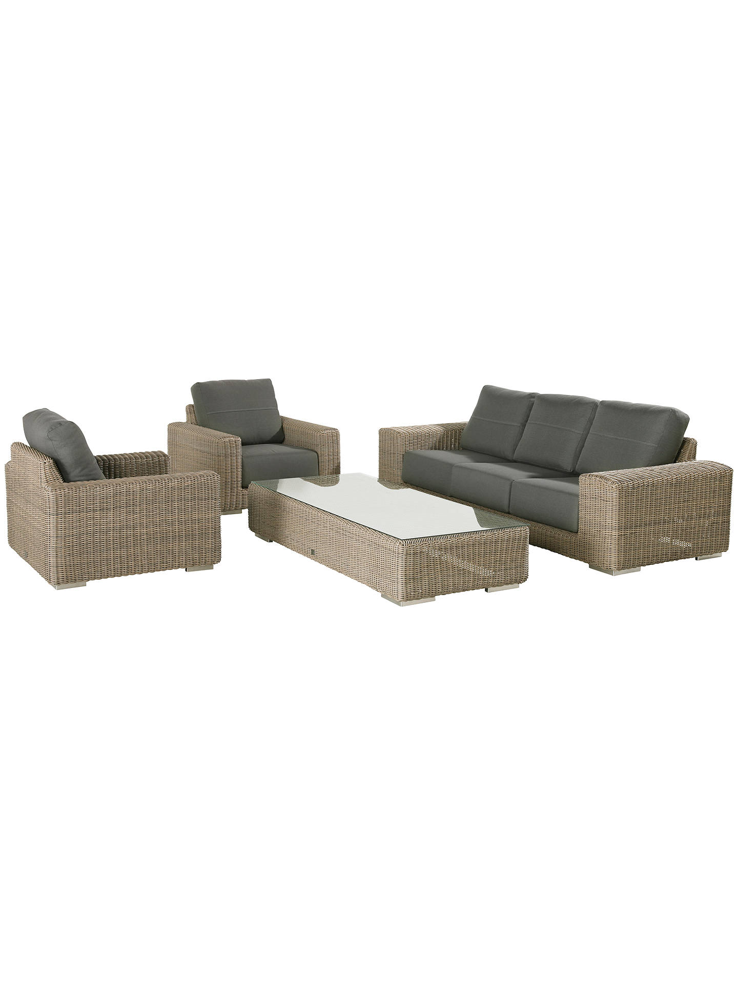 Buy4 Seasons Outdoor Kingston Garden Lounging Chair Online at johnlewis.com