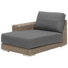Buy 4 Seasons Outdoor Kingston Modular Garden Chaise Sofa, Right Hand Side Online at johnlewis.com