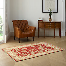 Buy John Lewis Garous Hand Made Rug, Red Online at johnlewis.com