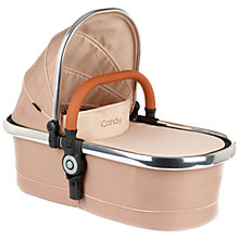 Buy iCandy Peach Carrycot, Butterscotch Online at johnlewis.com