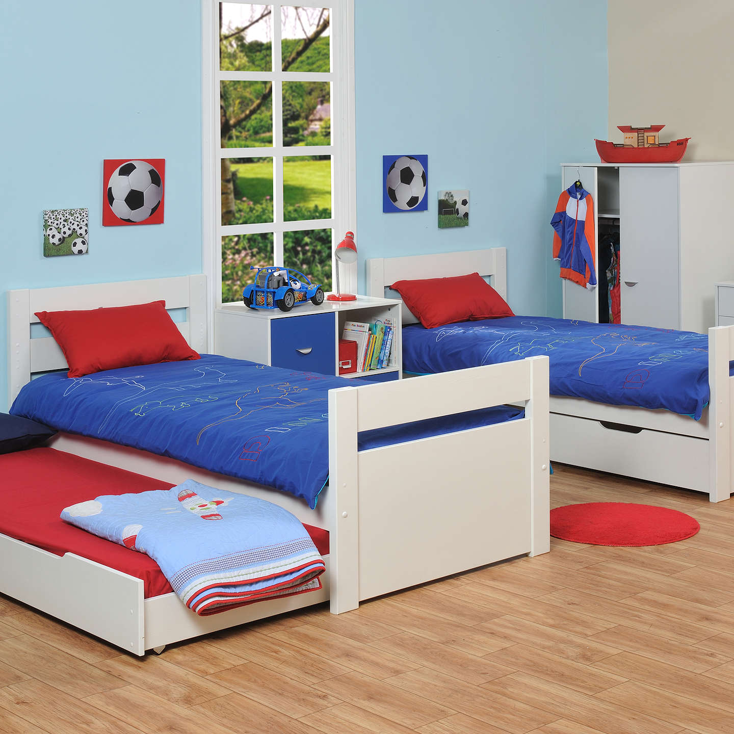 Stompa Originals Multi Bunk Bed with Trundle at John Lewis