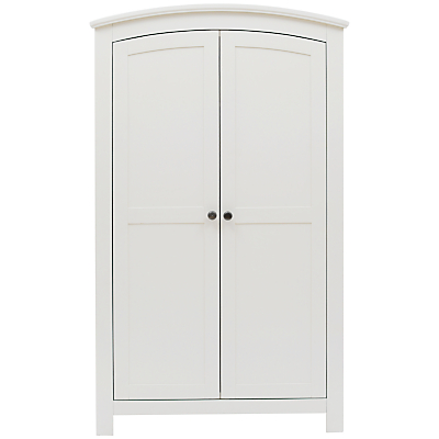 Silver Cross Ashby Style Wardrobe, Soft Antique White