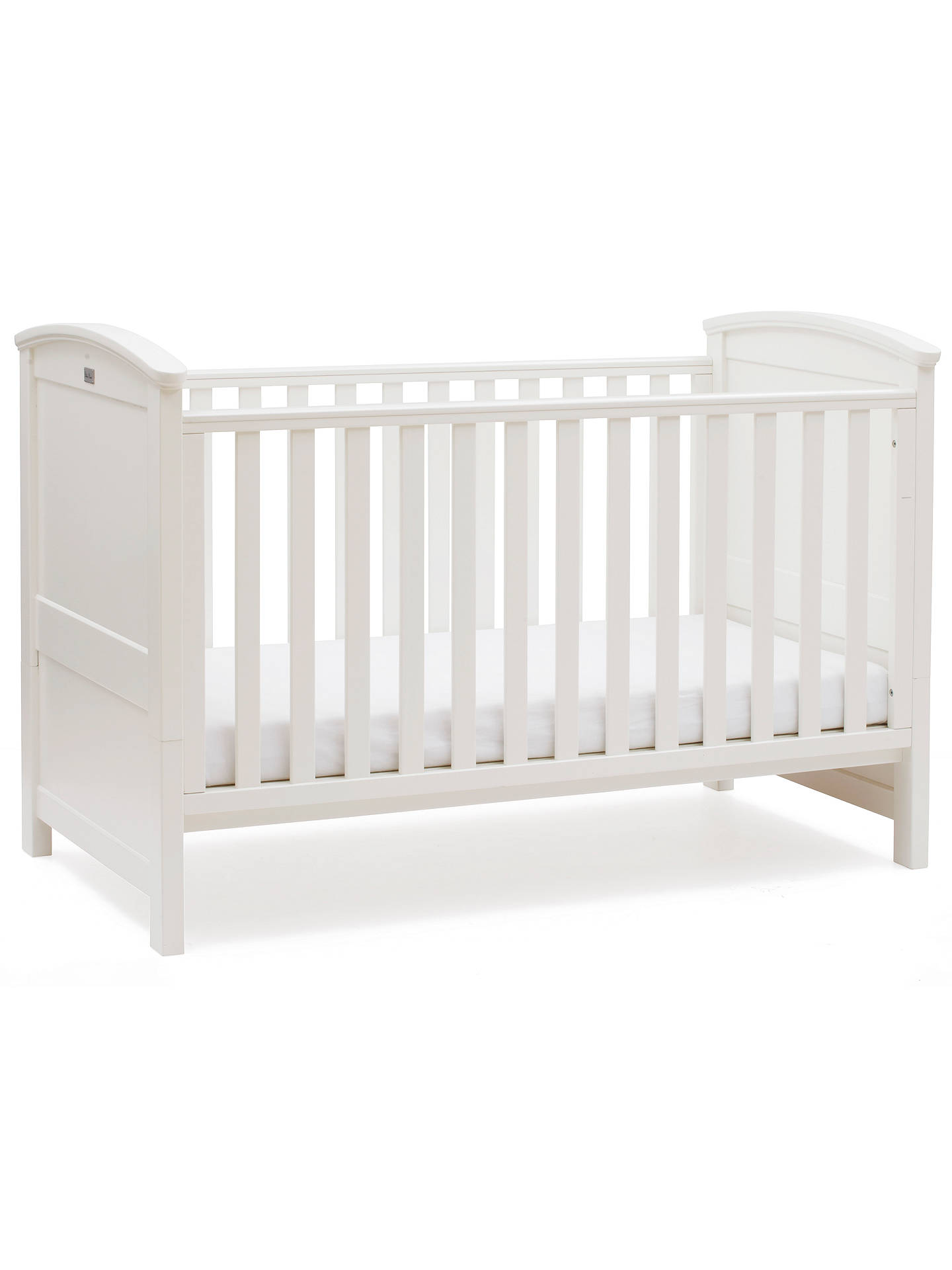 Buy Silver Cross Ashby Style Cotbed, Soft Antique White Online at johnlewis.com