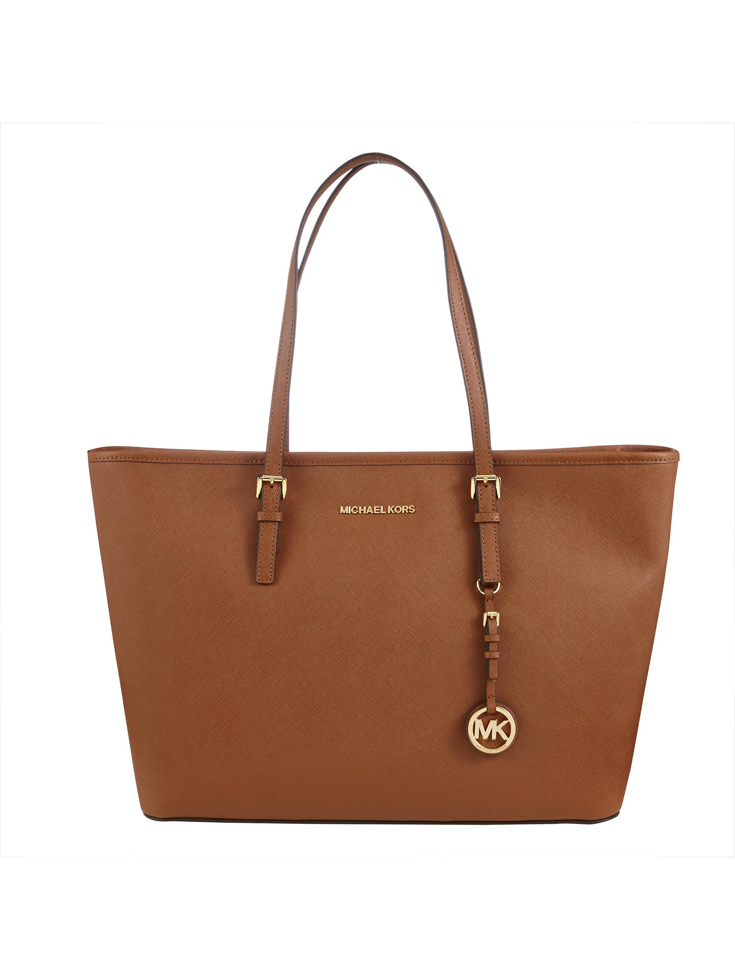 2935047ad216 Buy MICHAEL Michael Kors Jet Set Travel Tote, Tan Online at johnlewis.com  ...