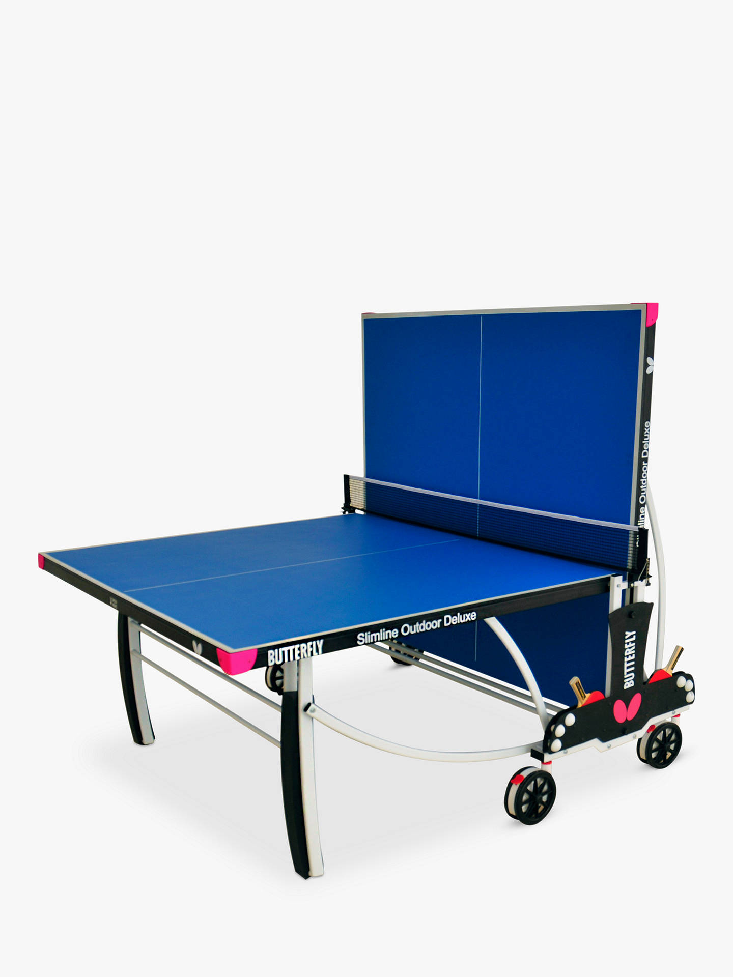 Buy Butterfly Slimline Deluxe Outdoor Table Tennis Table Online at johnlewis.com