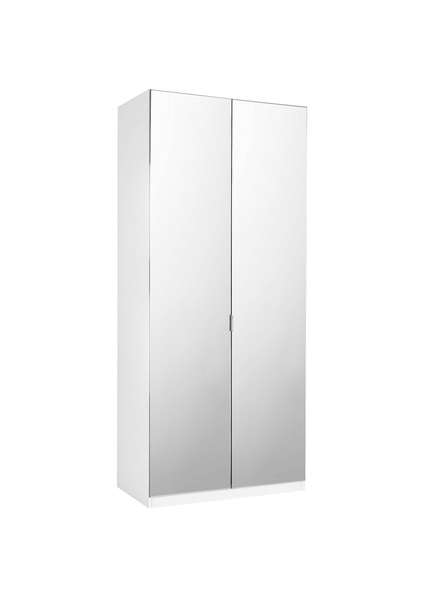 House By John Lewis Mix It Tall Mirrored Double Wardrobe