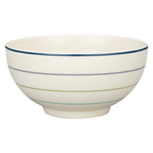 Buy John Lewis Hazlemere Stripe Bowl, Dia.15cm Online at johnlewis.com