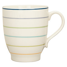 Buy John Lewis Hazlemere Stripe Mug Online at johnlewis.com