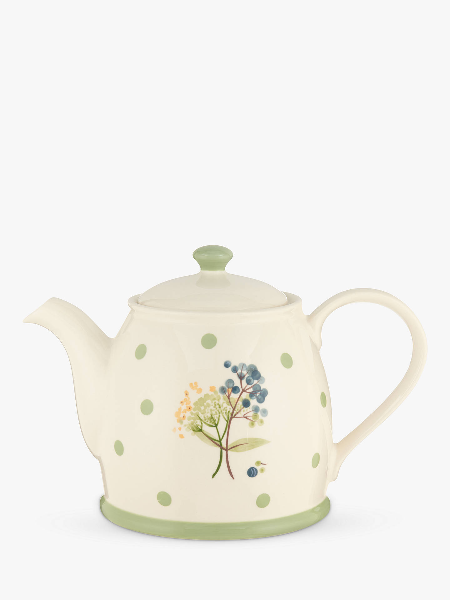 Buy John Lewis & Partners Hazlemere Flower Teapot Online at johnlewis.com
