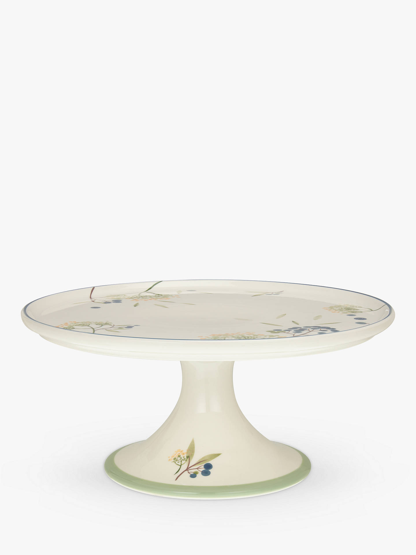 BuyJohn Lewis & Partners Hazlemere Flower Footed Cake Stand Online at johnlewis.com