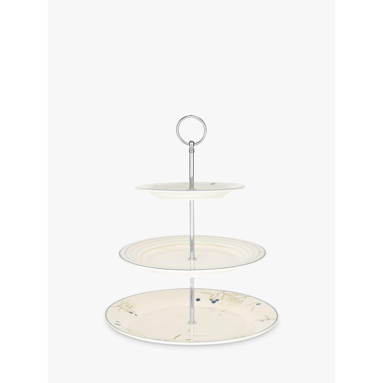 john lewis hazlemere 3 tier cake stand at john lewis. Black Bedroom Furniture Sets. Home Design Ideas