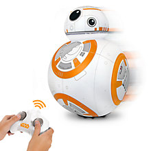 Buy Star Wars Episode VII: The Force Awakens BB-8 Remote Control Toy Online at johnlewis.com