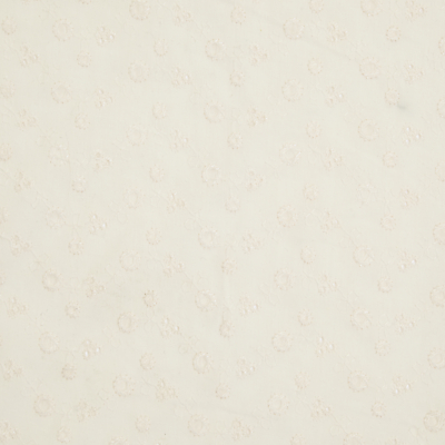 John Lewis Broderie Anglais Fabric, Ivory