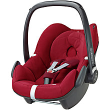Buy Maxi-Cosi Robin Red Pebble and Pearl Car Seats and Family Fix Base bundle Online at johnlewis.com