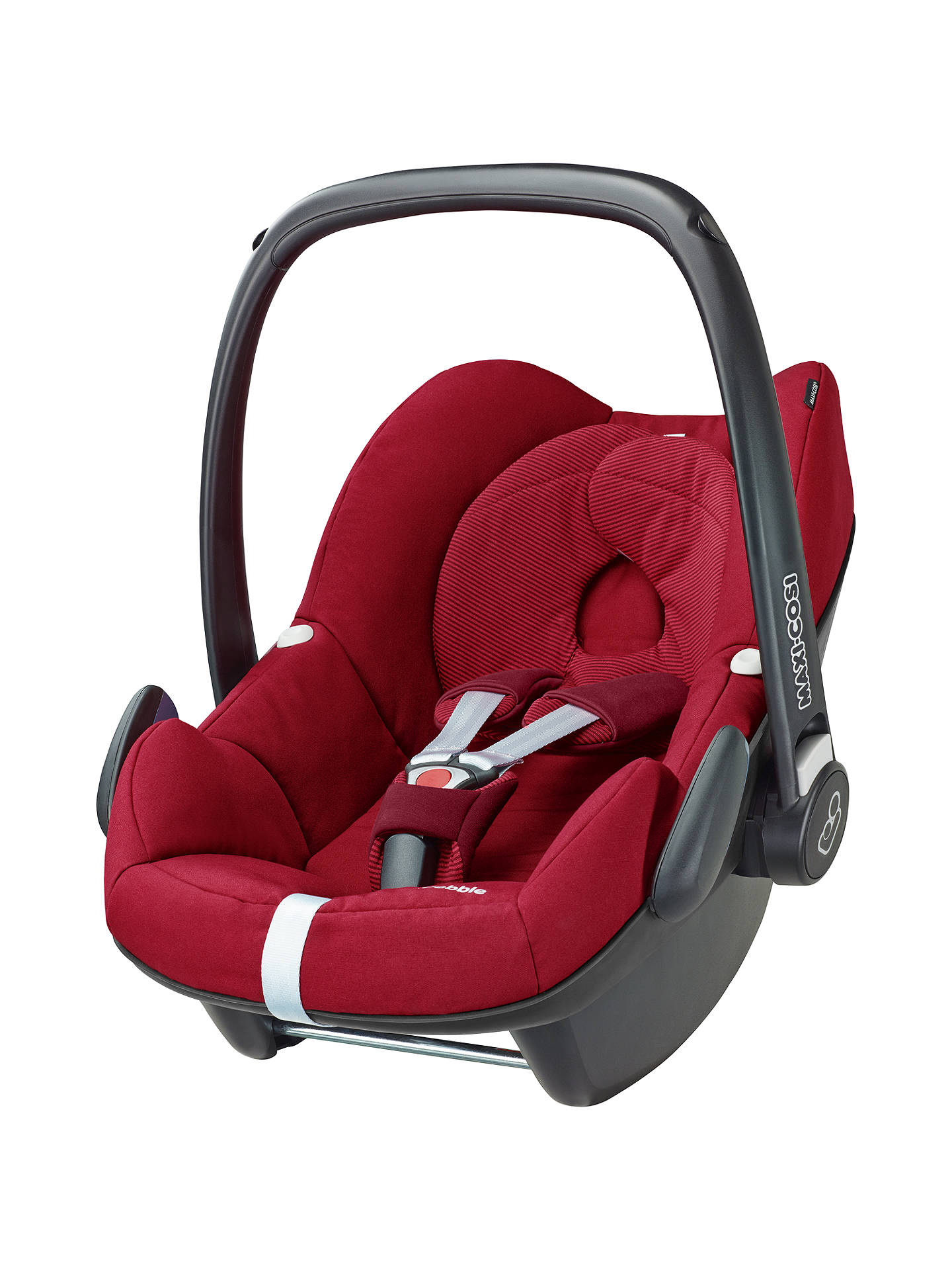 maxi cosi pebble group 0 baby car seat robin red at john lewis partners. Black Bedroom Furniture Sets. Home Design Ideas