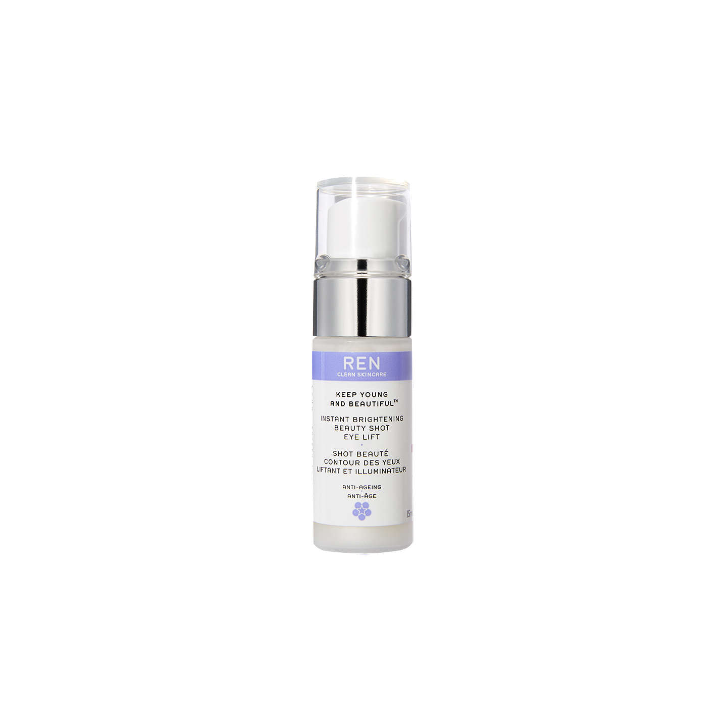 BuyREN Keep Young and Beautiful Instant Brightening Beauty Shot Eye Lift, 15ml Online at johnlewis.com