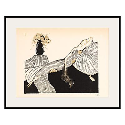 The Courtauld Gallery, Gazette du Bon Ton – No7 1920 Les Quatre Bouquets Framed Giclee Print, 40 x 50cm