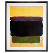 Buy Rothko - Untitled 1949 Framed Print, 96.5 x 81cm Online at johnlewis.com