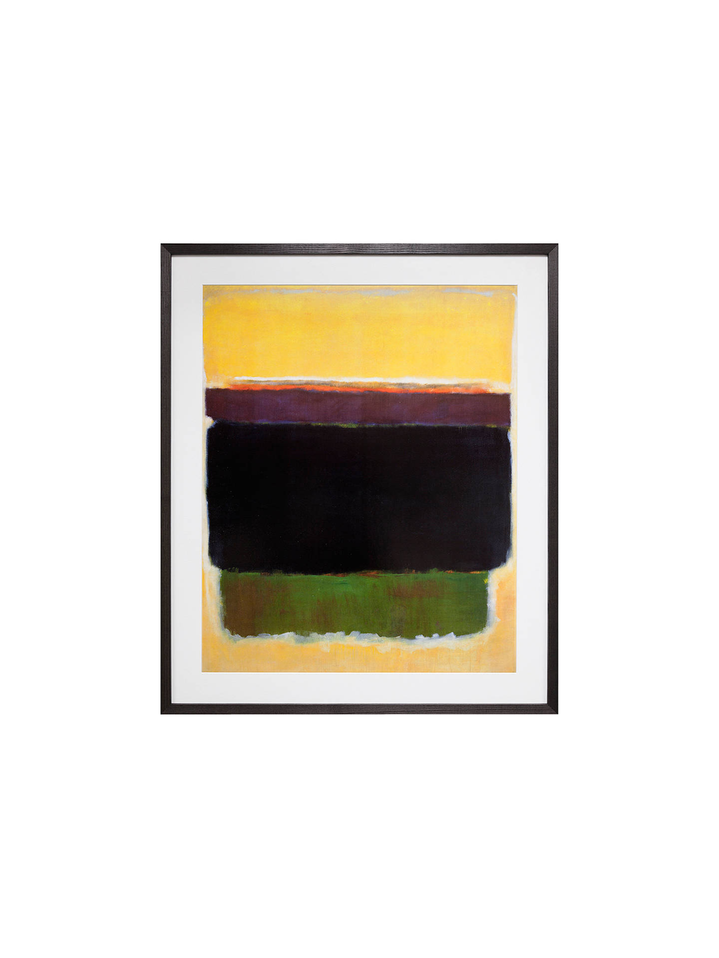 BuyRothko - Untitled 1949 Framed Print, 96.5 x 81cm Online at johnlewis.com