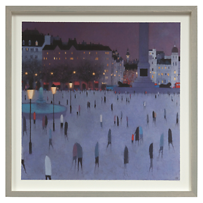 Emma Brownjohn – Dusk Walking Framed Print, 50 x 50cm