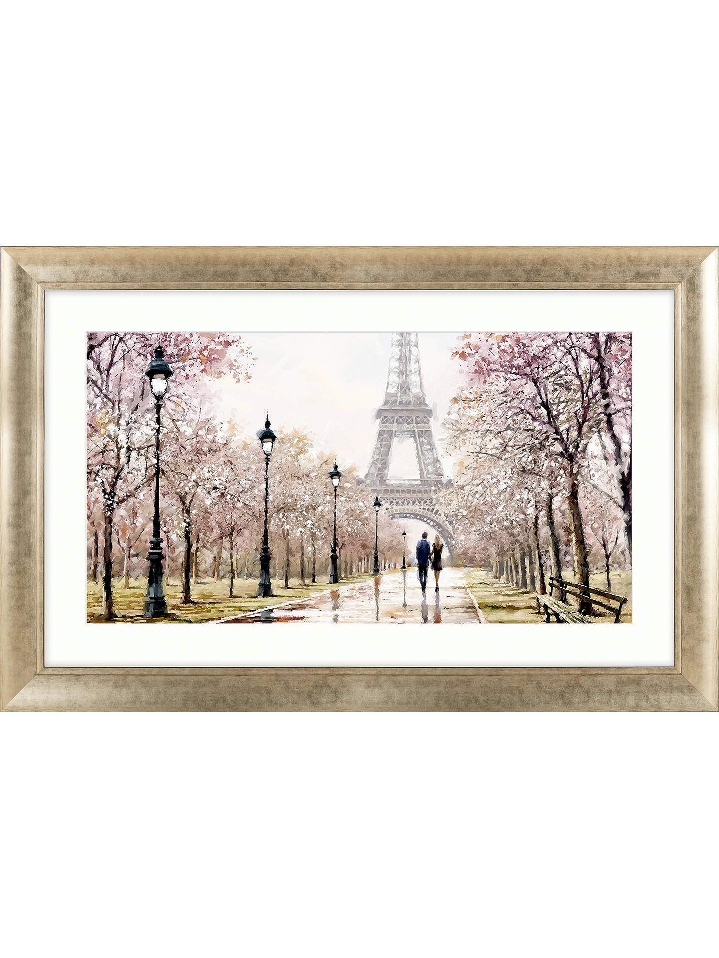 BuyRichard Macneil - Eiffel Tower Framed Print, 112 x 72cm Online at johnlewis.com