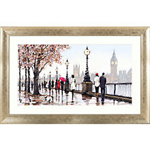 Buy Richard Macneil - Thames View Framed Print, 112 x 72cm Online at johnlewis.com