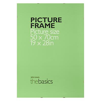 John Lewis The Basics Clip Frame, 50 x 70cm