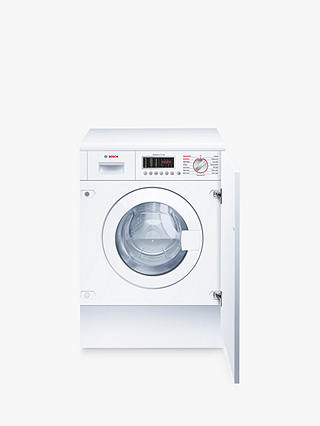 Buy Bosch WKD28541GB Integrated Washer Dryer, 7kg Wash/4kg Dry Load, B Energy Rating, 1400rpm Spin Online at johnlewis.com