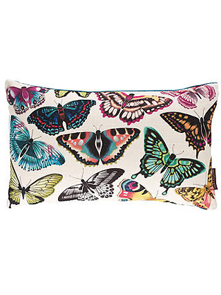 Buy Harlequin Papilio Butterflies Cushion, Multi Online at johnlewis.com