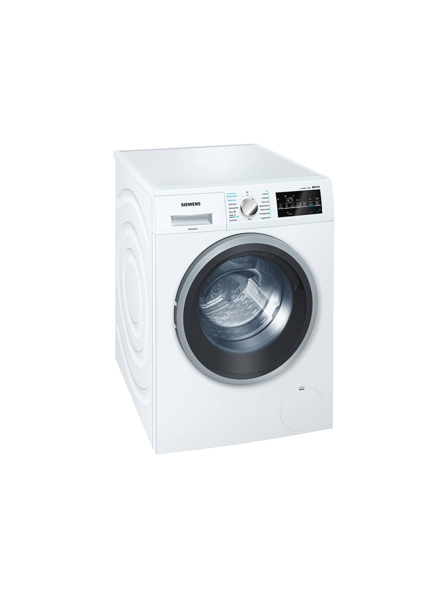 Siemens Wd15g421gb Washer Dryer 8kg Wash 5kg Dry Load A Energy