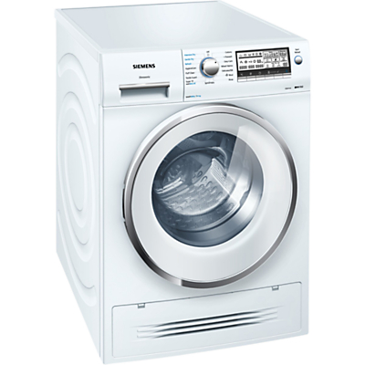Image of Siemens WD15H520GB Washer Dryer, 7kg Wash/4kg Dry Load, A Energy Rating, 1500rpm Spin, White