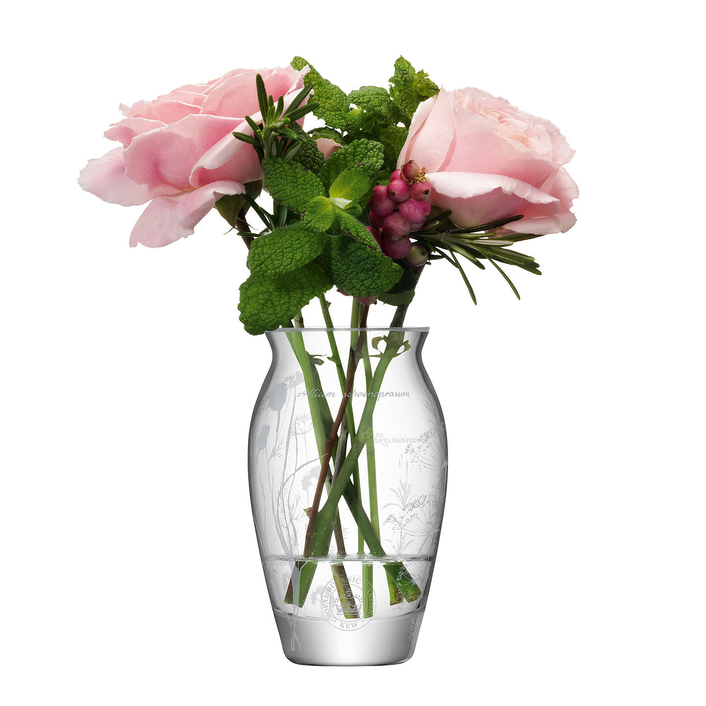 BuyKew Royal Botanic Gardens Single Bud Vase Online at johnlewis.com