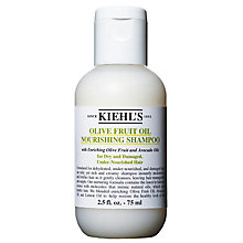 Buy Kiehl's Olive Fruit Oil Nourishing Shampoo, 75ml Online at johnlewis.com