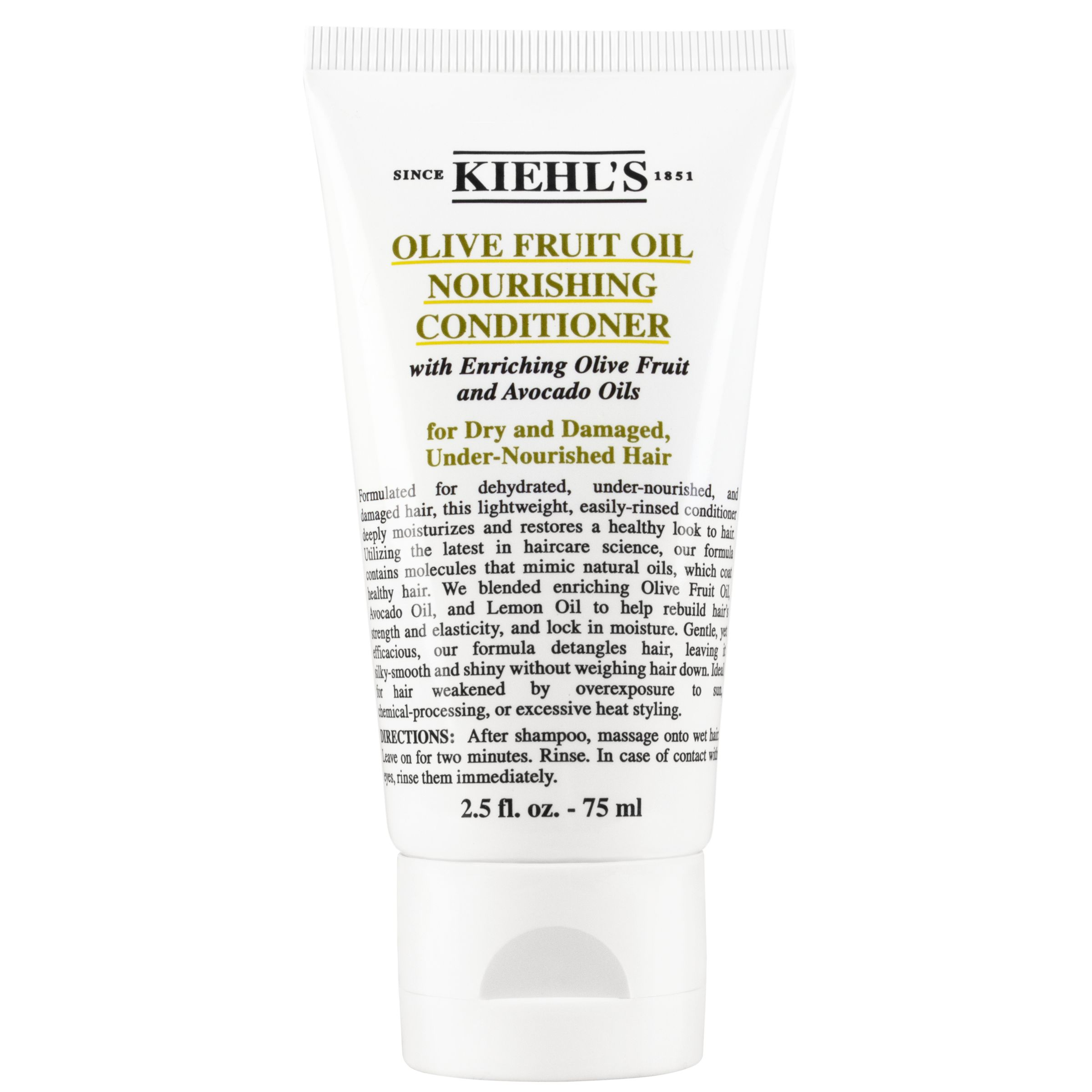 Kiehls Kiehl's Olive Fruit Oil Nourishing Conditioner, 75ml