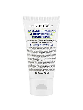 Buy Kiehl's Damage Repairing & Rehydrating Conditioner, 75ml Online at johnlewis.com
