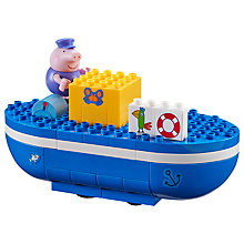 Buy Peppa Pig Grandpa Pig's Boat Construction Set Online at johnlewis.com