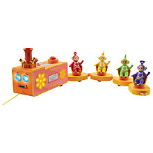 Buy Teletubbies Pull-Along Custard Train Online at johnlewis.com