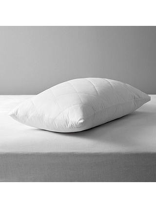 Buy John Lewis & Partners Specialist Synthetic Waterproof Quilted Standard Pillow Protector Online at johnlewis.com