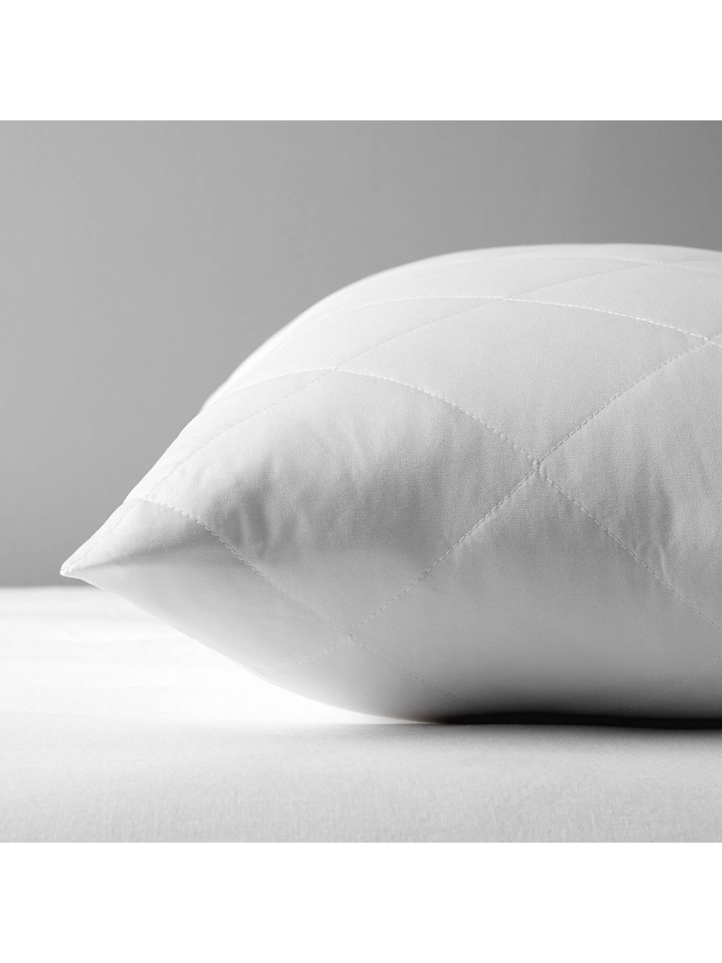 BuyJohn Lewis & Partners Specialist Synthetic Waterproof Quilted Standard Pillow Protector Online at johnlewis.com
