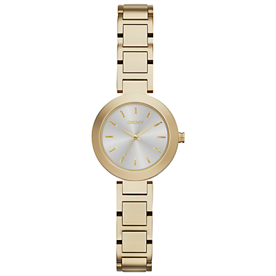 DKNY NY2399 Women's Stainless Steel Stanhope Bracelet Strap Watch, Gold