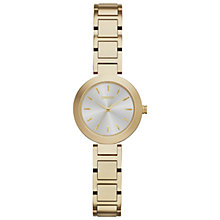 Buy DKNY NY2399 Women's Stainless Steel Stanhope Bracelet Strap Watch, Gold Online at johnlewis.com