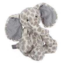 Buy Jellycat Dapple Elephant Soft Toy, Medium, Grey Online at johnlewis.com