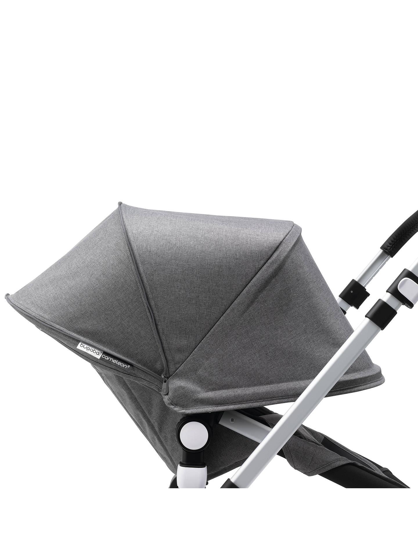 timeless design 57cdb ef79b ... Buy Bugaboo Cameleon3 Classic+ Complete Pushchair, Grey Melange Online  at johnlewis.com ...
