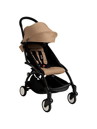 BABYZEN YOYO+ Pushchair, Black/Taupe